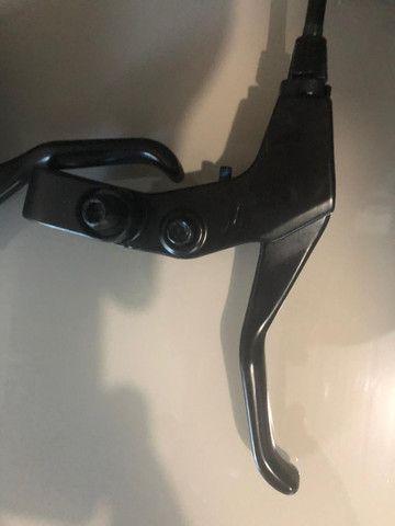 Jogo de freio Radius CX7, mecânico, 160mm (NOVO) - Foto 2