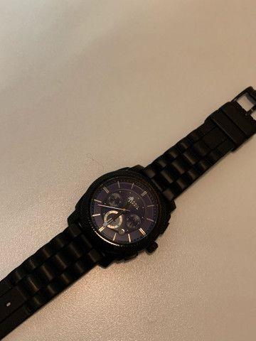 Relógio Fossil Azul - Foto 3