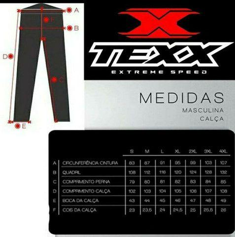 Calça Motociclista Texx Strike Importada, impermeável e resistente - Foto 2