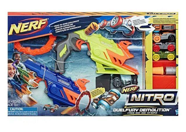 Vendo brinquedo Nerf Nitro, novo na caixa