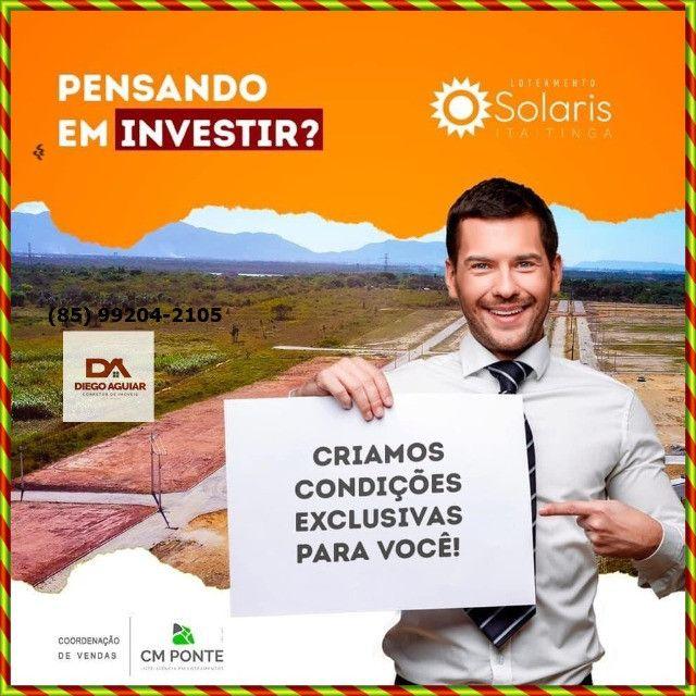 Loteamento Solaris em Itaitinga $%¨&*( - Foto 5