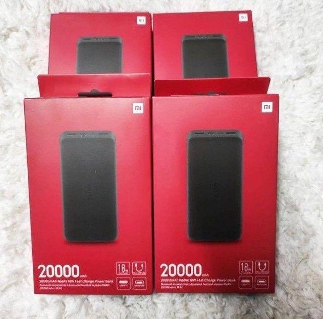 Carregador Portátil 20000mah Quick Charge 3.0 Turbo - Xiaomi - Foto 3