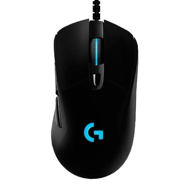 Mouse Gamer Logitech G403 Hero 16 Rgb Usb Preto - Foto 6