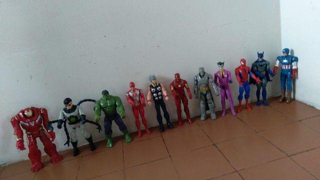 Coleção de bonecos da Marvel fone * - Foto 5