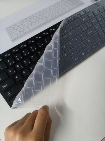 Teclado Wireless com mouse - Foto 6