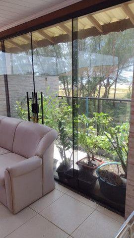 Grussai- Sao Joaõ da Barra- vendo casa com dois andares frente ao Mar - Foto 16