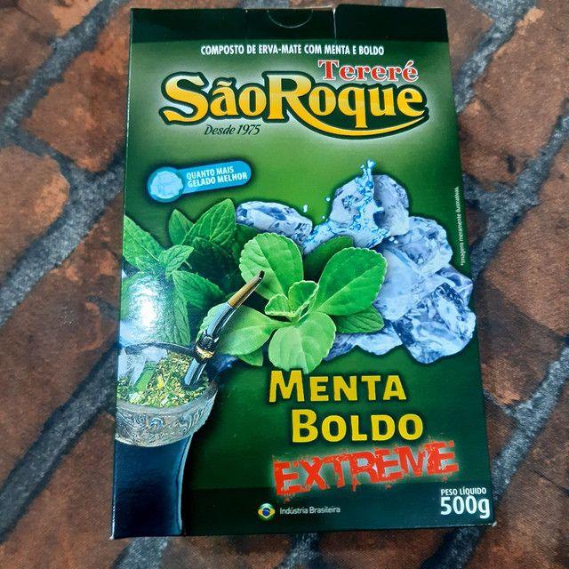 Erva Tereré São Roque 500g sabor - Foto 4