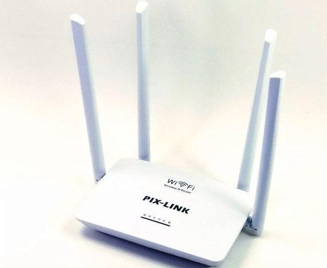 Roteador e repetidor wifi Wireless 300 Mbps(garantia) - Foto 2