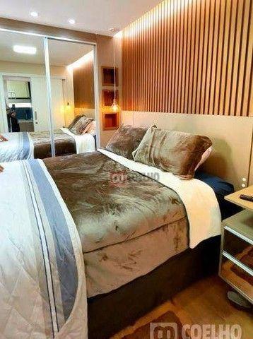 Apartamento Luxuoso Totalmente Mobiliado, 2 Quartos com Suíte em Condomínio Clube - Bairro - Foto 12