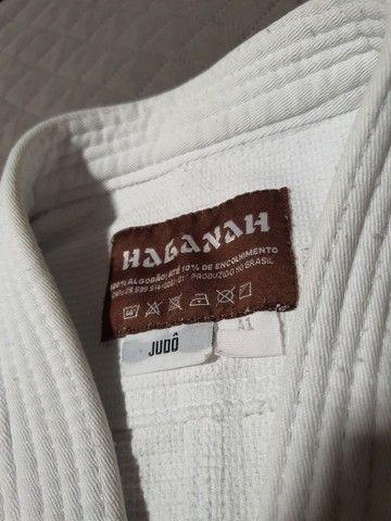 Kimono Judô/Jiujitsu HAGANAH A1 Branco - Foto 4