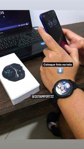 Smartwatch original lige / entrega grátis / coloca foto na tela  - Foto 4