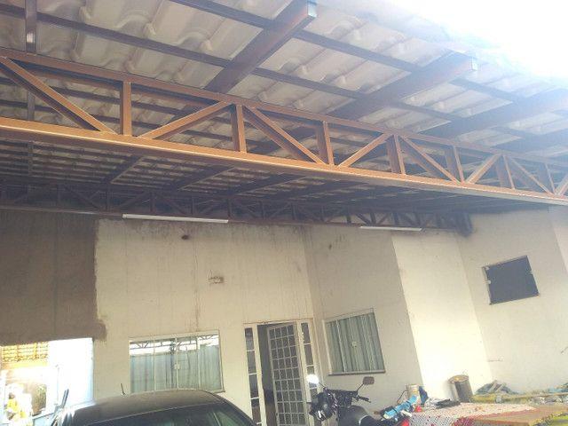 Garagens e coberturas