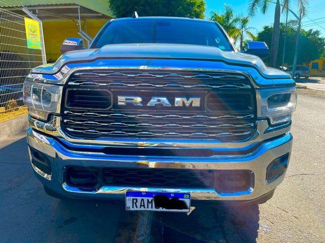 RAM LARINIE 2500 6.7 2019/19 ATENÇÃO LETRA INICIAL PLACA ?RAM?única - Foto 2