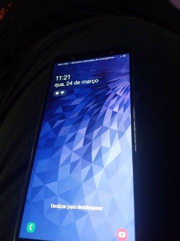Samsung j8 64g pouco tempo de uso