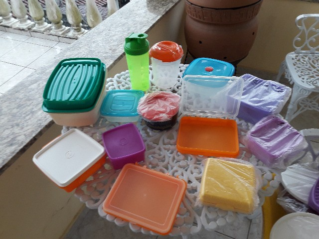 Conjunto de potes tupperware - Foto 2
