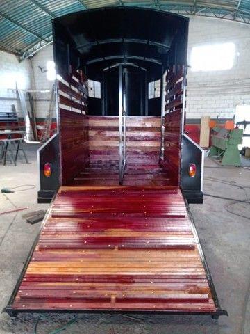 Carreta para 2 cavalos nova R$ 10.500,00 - Foto 5
