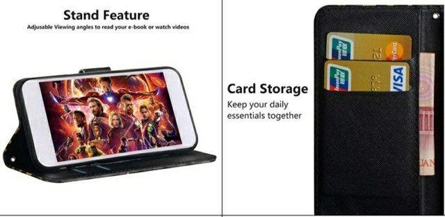 Capa Carteira 3D Samsung A70 e A70s - Foto 2