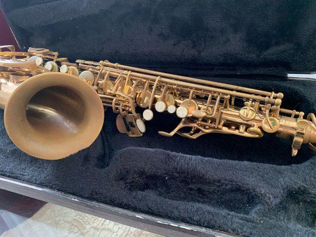 Vendo Saxofone Dourado - Foto 3