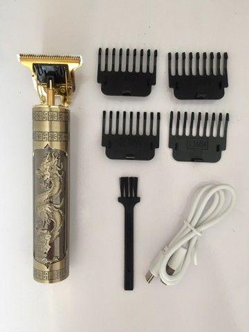 Maquina de acabamento T9 - A queridinha dos barbeiros!  - Foto 4