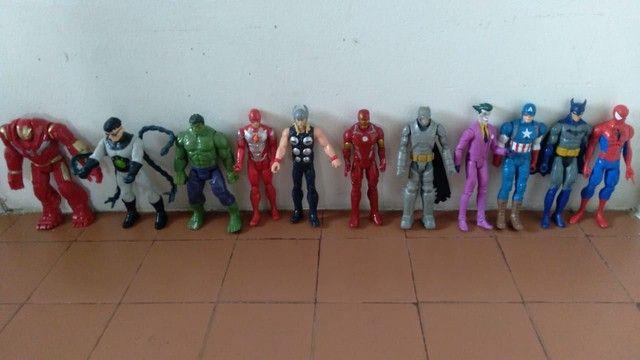 Coleção de bonecos da Marvel fone * - Foto 6