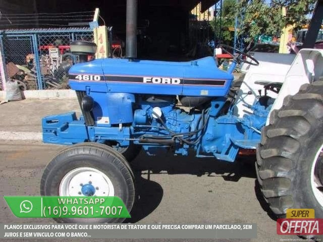 Trator Ford 4610 4x2 ano 81 - Foto 2