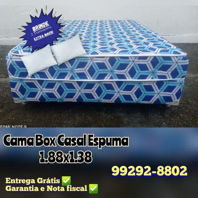 * cama box epsuma * à pronta entrega !!