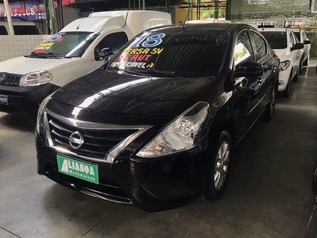 Nissan Versa 1.6 SV 2018 Automático com GNV - Foto 3