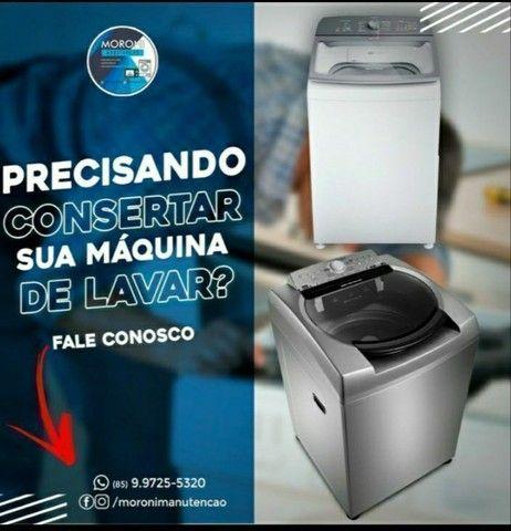 Prestamos serviço de manutenção em máquina de lavar e microondas