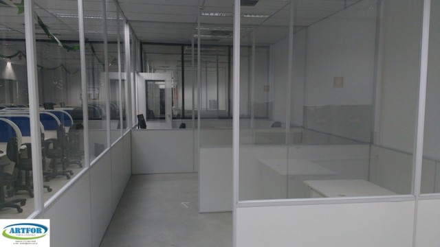 Divisórias para Call Center, Divisões de Ambientes Provisórios em Divisórias Eucatex.