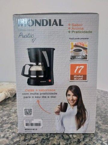 Cafeteira Elétrica Mondial Pratic NC-25 17 Xícaras ? Preta - Foto 3