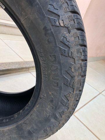 Vendo 02 pneus 255/60R18  - Foto 5