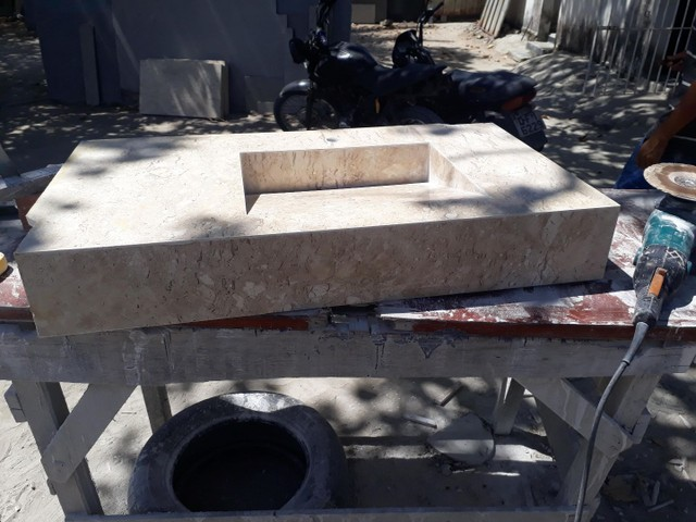 Mármores e granitos Pia banheiro, bancada de cozinha, soleiras, peitoril, etc. - Foto 4