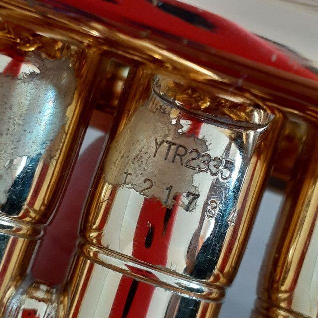 Trompete Yamaha -YTR 2335 - Dourado - Foto 5