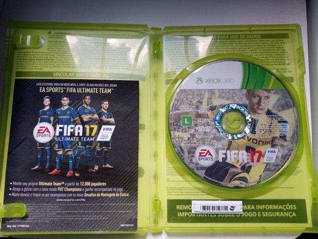 Jogo Xbox 360 Fifa 17 original - Foto 2
