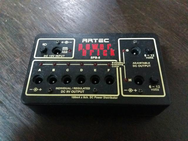 Fonte multiple Artec power brick spb-8