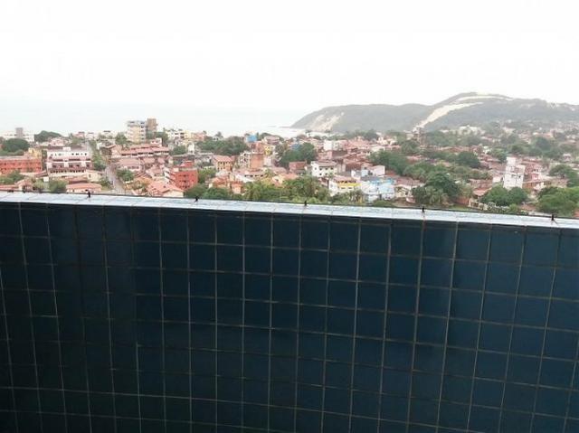 Apto com 2 quartos 1 suite mobiliado em Ponta Negra vista livre para o Morro do Careca!