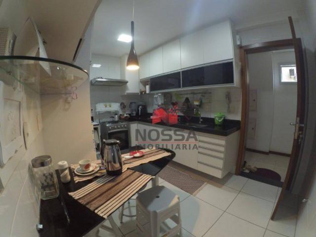 Apartamento 3 quartos em Jardim Camburi com 4 vagas, montado e decorado - Foto 9
