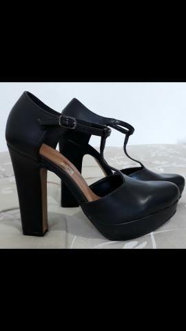 Sapato preto - TORRANDO!