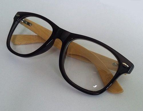 Óculos Sem Grau Madeira Bambu Unisex