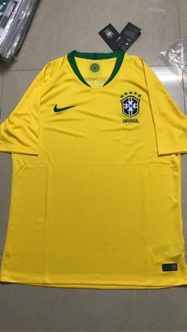 8ad6d7727 Camisa Seleção brasileira oficial! - Roupas e calçados - Bancários ...