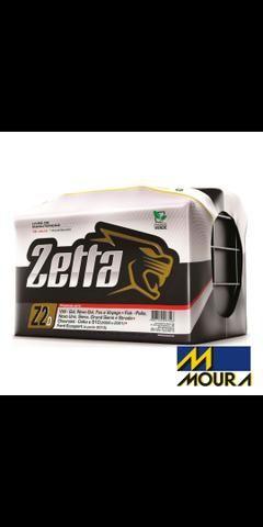 Bateria automotiva zetta 60ah 199,00