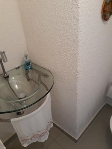 Sobrado em condomínio fechado com 120 m² de área construída + espaço externo - Foto 5