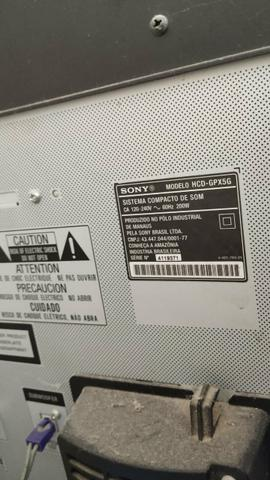 Mini System Sony HCD-GPX5G