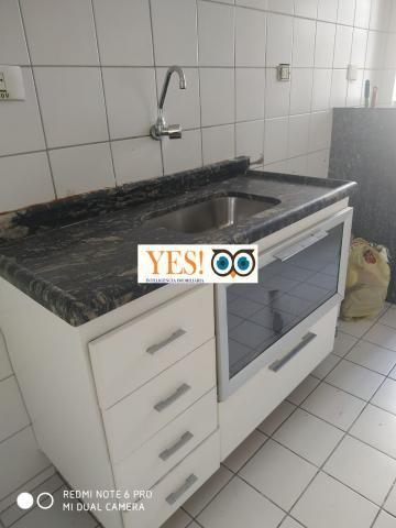 Yes imob- apartamento para locação, muchila, feira de santana, 3 dormitórios sendo 1 suíte - Foto 9