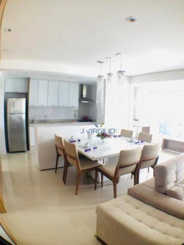 Apartamento com 3 suítes à venda, 117 m² por r$ 620.000 - jardim goiás - goiânia/go - Foto 4