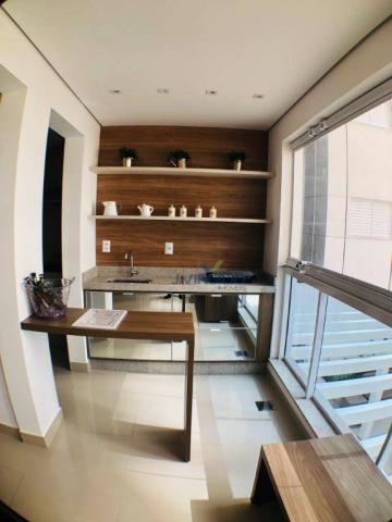 Apartamento com 3 suítes à venda, 117 m² por r$ 620.000 - jardim goiás - goiânia/go - Foto 6