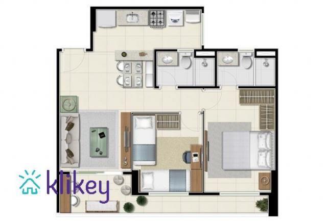 Apartamento à venda com 2 dormitórios em Dunas, Fortaleza cod:7910 - Foto 2