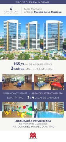 (EA) apartamento a venda na miguel Dias com 165 metros 3 quartos 3 vagas