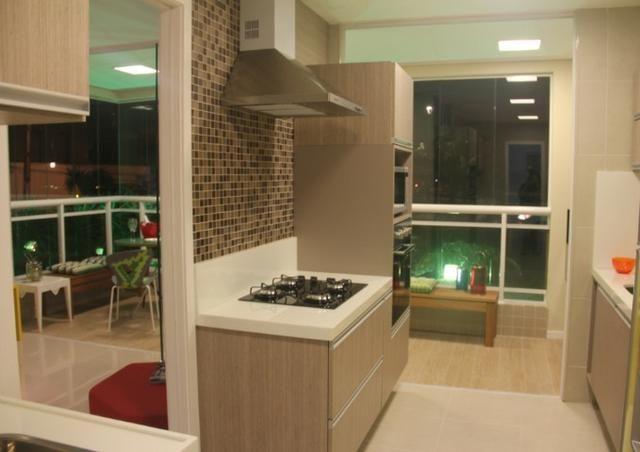 (JR) Apartamento 98m² No Cocó > Fino acabamento > 3 Quartos > Varanda Gourmet! - Foto 3