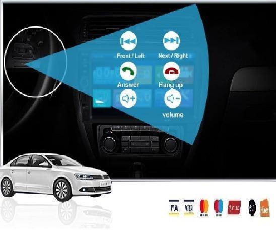 Central Multimídia Display Digital Bluetooth, Usb, Fm - Foto 2